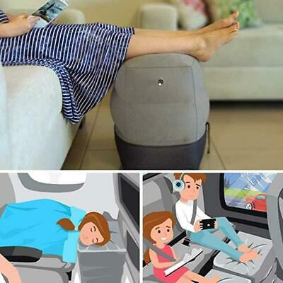 Inflatable Office Travel-Footrest Leg Foot Rest-Cushion Pillow Pad Kids Bed-New