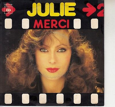 45Trs Vinyl 7''/ French Sp Julie Pietri / Merci
