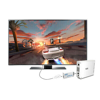 HD Wii To HDMI 1080P/720P Video Converter Audio Adapter Jack Connector 3.5mm