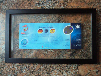 Ticket Euro Cup Final 2008. Germany Spain