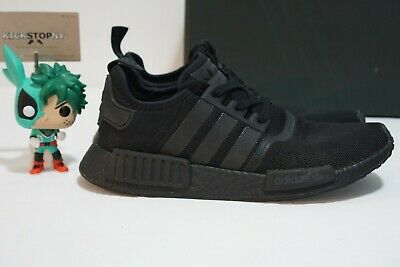 78e4ea1926 Adidas NMD R1 Triple Black S31508 - Preowned Size 9.5 US AUTHENTIC