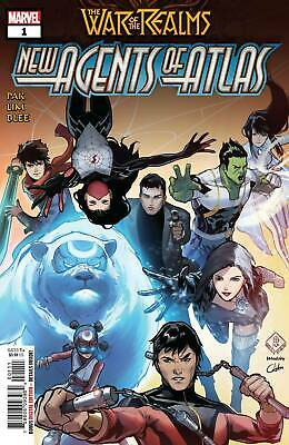War Of Realms New Agents Of Atlas #1 1St App Wave Crescent Lo Aero 1St Print Nm
