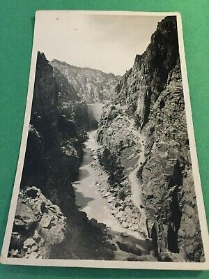 RPPC Grand Canyon of the Yellowstone Wyoming WY Postcard ID#1227