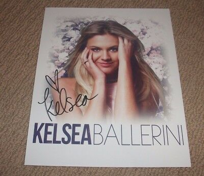 Kelsea Ballerini - Autographed - 8X10 Promo Photo! *Signed* Country Music Star