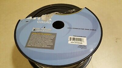 AccuCable Lighting 300 ft. 3 Pin Male to Female Connector Cable