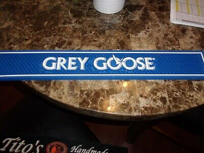 Grey Goose Blue Bar Mat Restaurant Cutting Surface Non Slip Rubber