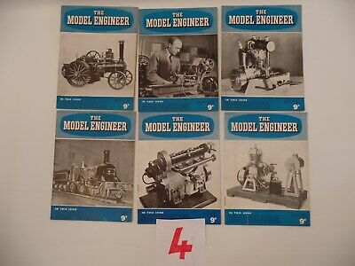 The Model Engineer Magaizines 1950'S (6 In Total)