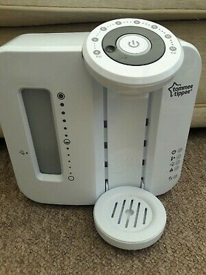 Tommee Tippee Perfect Prep Machine Baby Bottle Maker in white