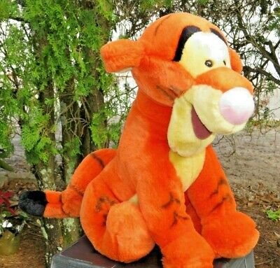 Disney World Theme Park Version Winnie The Pooh Tigger Plush Stuffed Animal Doll