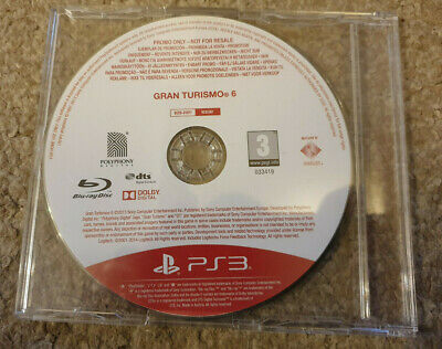 Sony Playstation 3 PS3 Game Gran Turismo 6 Promo Version