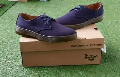Dr.Martens Delray Sergé Canvas Overdyed Marine Canvas