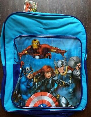 Kids Children's Marvel Avengers Junior Backpack School Bag Rucksack