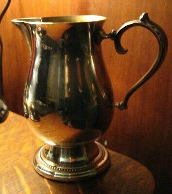 Oneida Silver Creamer - Vintage Silverplate Serving Milk Cream Table Pitcher USA
