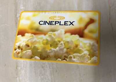 Cineplex Gift Cards - $15 Mail or Email Delivery