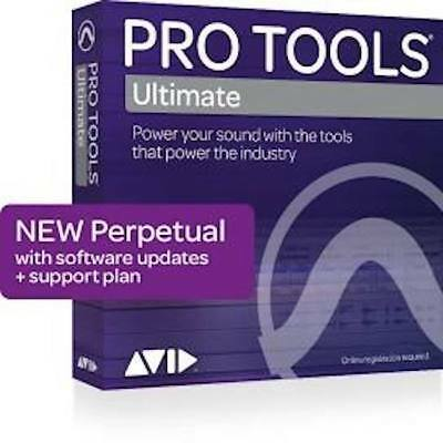 Avid Pro Tools ULTIMATE 2018/19 ( formerly PT HD 12.8x ) w/  PERPETUAL LIC -