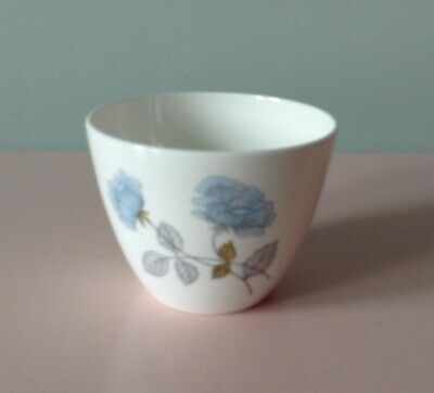 WEDGWOOD ICE ROSE Bone China Sugar Bowl - Excellent Condition