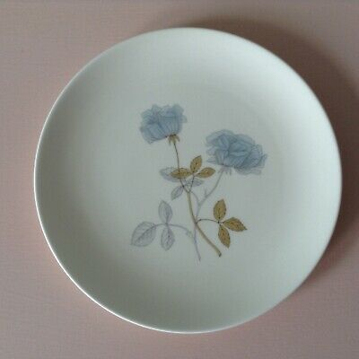 """WEDGWOOD ICE ROSE Bone China 9"""" Starter Plate - Excellent Condition"""
