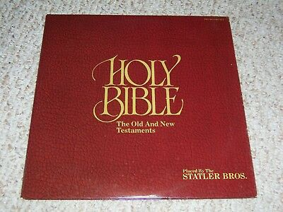 "THE STATLER BROS.""Holy Bible: Old And New Testaments"" 1975 Mercury 2LP  EX"