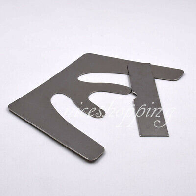 Dental Occlusal Maxillary Casting Jaw Fox Plane Autoclavable Stainless SST Plate