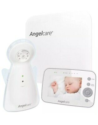 """Angelcare AC1300 Baby Breathing Movement Monitor with 3.5"""" Display and Wired Pad"""