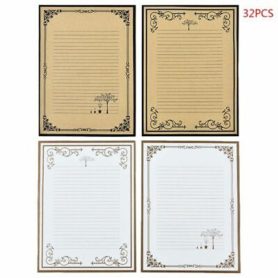 32 pcs/pack Retro Writing Letter Stationery Romantic Lace Letterhead Note Paper