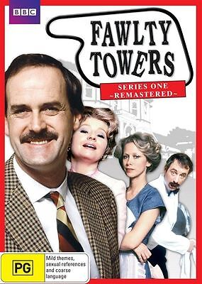 Fawlty Towers Series One Remastered Region 4 DVD Brand New Sealed