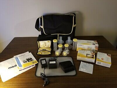 Medela Pump-In Style Advanced Double Breast Pump, Breastmilk Bags, Quick Clean.