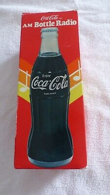 Bottle  Radio Coca -  Cola  - Vintage - Rare