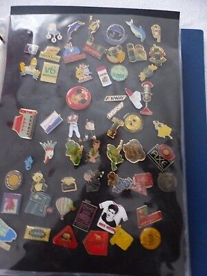 Lot 1 : 58 Pin's De Collection - Rare