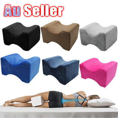 2019 Washable Pillow DM Pain Relief Leg Cushion Knee Support Memory Foam Pillow