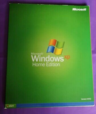 Microsoft Windows Xp Home Edition Upgrade Retail 2002 Version With Product Key