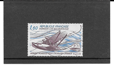 """France 1982.hydravion Late 300 """" cross South """" .timbre Gum Oblitere.pa.n No 56"""
