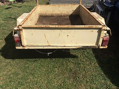 box trailer 6x4 no rego no vin