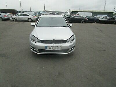 2013 (63) Vw Golf 2.0 Tdi Diesel 6 Speed Damaged Repairable Salvage Unrecorded!!