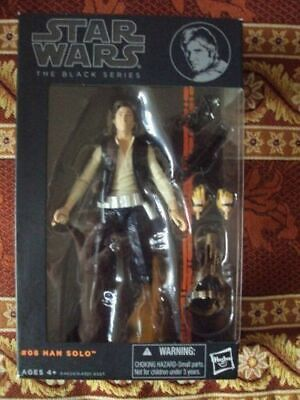 "HAN SOLO. Star Wars Black Series 6"". Figure"