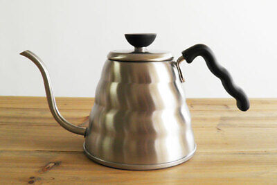 HARIO V60 BUONO VKB-120HSV Coffee Drip Kettle Stainless Coffee Pot 1.2L New