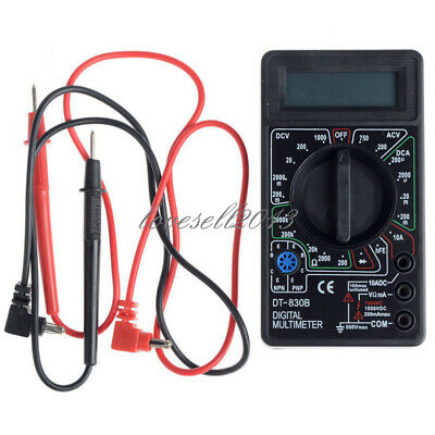 Mini LCD Digital DT830B Multimeter Voltmet Electric Voltage Tester+Test Lead Pen