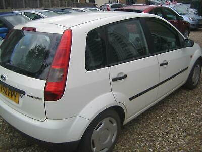 52 Ford Fiesta 1.3 2003.25MY Finesse 5 Door Full Service History