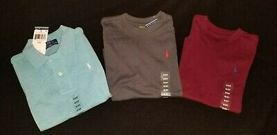 New toddler boy's Polo Ralph Lauren size 3t t shirts collared polo X3 items