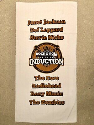 *New* 2019 Rock & Roll Hall Of Fame Inductees Excl Vip Beach Blanket Def Leopard