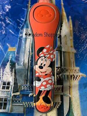 Disney Parks Minnie Mouse RED Magic Band 2 Magicband Link It Later