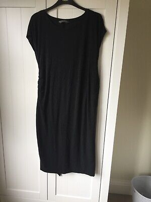 Grey Maternity Dress Size 14 Blooming Marvellous
