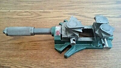 SEVO pivoting SWIVEL JAW machine VICE for drill milling lathe MADE in SWEDEN