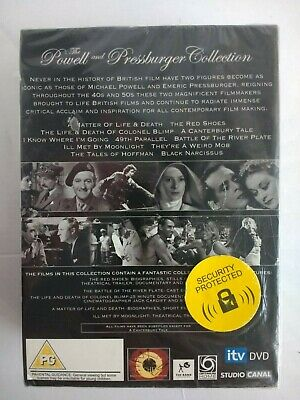 The Powell and Pressburger Collection (11 Disc DVD Box Set) **New & Sealed**