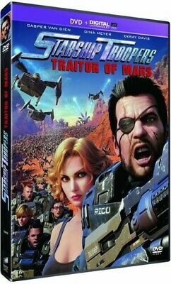Starship Troopers Traitor of mars DVD NEUF SOUS BLISTER