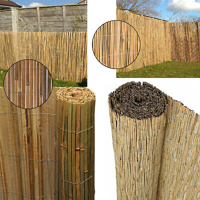 Bamboo 4m Long Screening Roll Screen Fencing Garden Fence Panel Outdoor