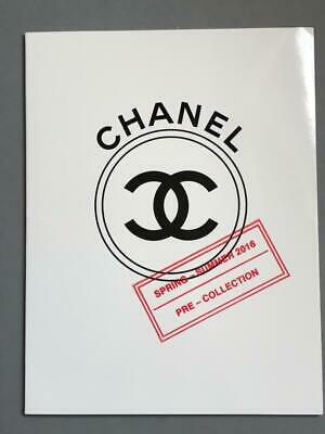 CHANEL Spring Summer 2016 Photo LOOK BOOK Catalog  Karl Lagerfeld