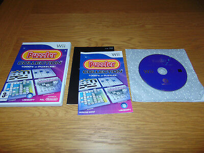 Puzzler Collection - 1000's of Puzzles (Nintendo Wii, 2008) PAL