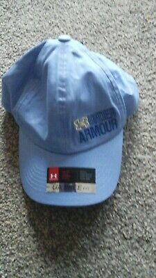 BNWT Under Armour Girls Baseball Cap - Blue
