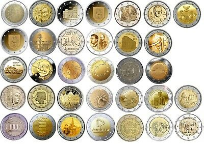 2 Euro commemorative coins 2017 - BU or UNC or Proof quality